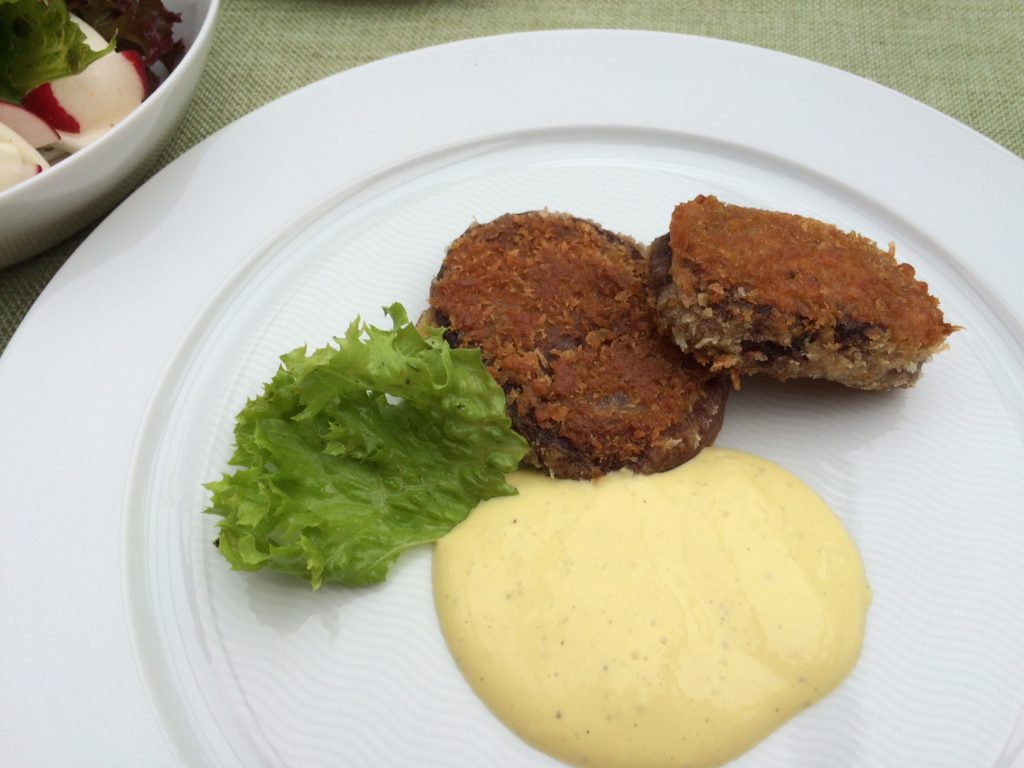 Rote Beete Schnitzel